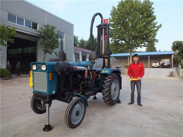 拖拉機液壓鉆井機、液壓鉆車、開峰機械(查看)