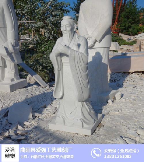 广西孔子像_爱强石雕_孔子像浮雕像