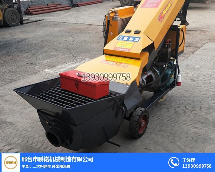 鵬諾機械(圖)-斜式二次構造泵價格-上海斜式二次構造泵