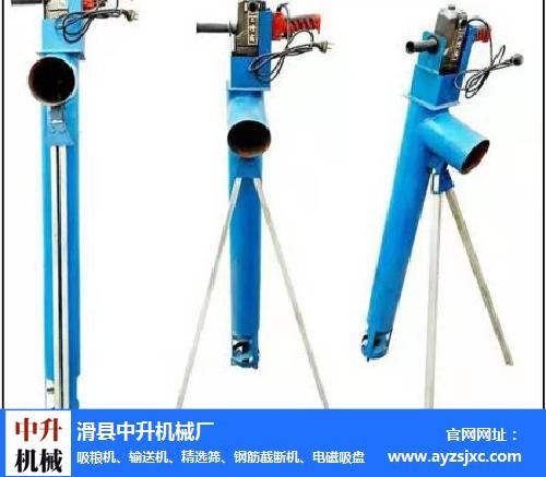 手电钻吸粮机-中升机械(在线咨询)-广东电钻吸粮机
