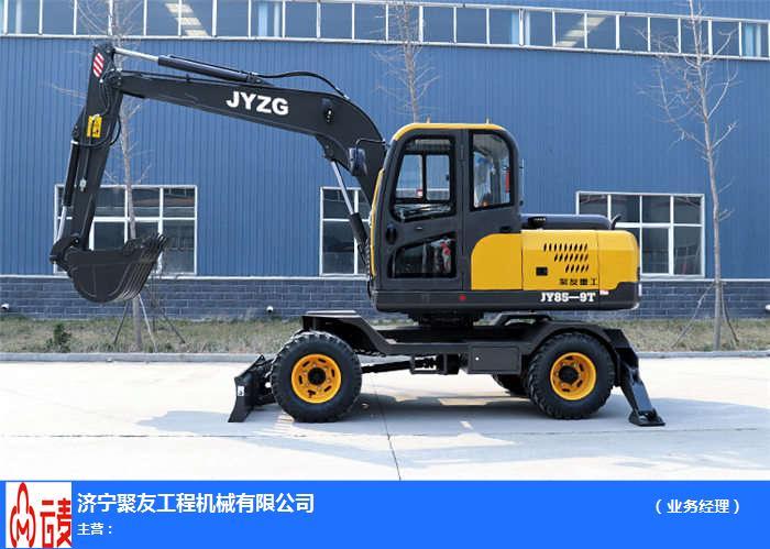 聚友機械廠家**(圖)-90輪式挖土機-輪式挖土機