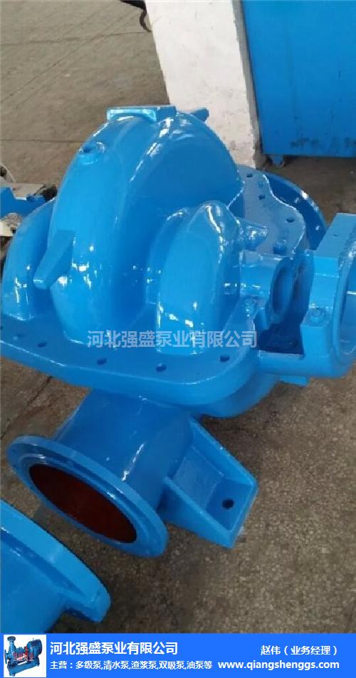 14SH-19蝸殼式雙吸泵、強盛泵業