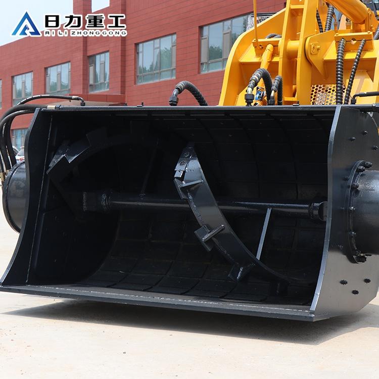 日力重工攪拌斗(圖)-攪拌斗裝載機鏟車改裝-攪拌斗裝載機