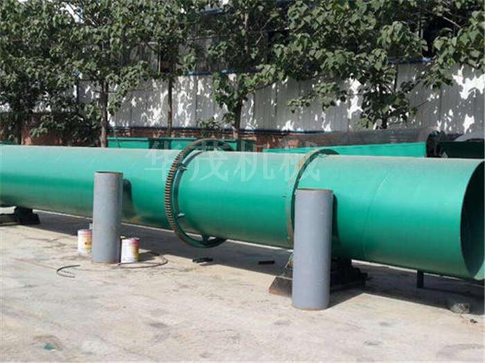 大型粉煤灰烘干機-華茂機械(在線咨詢)-廣西省粉煤灰烘干機