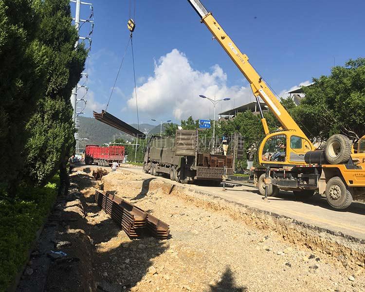 止水鋼板樁租賃-山西鋼板樁租賃-廣源通達鋼板樁