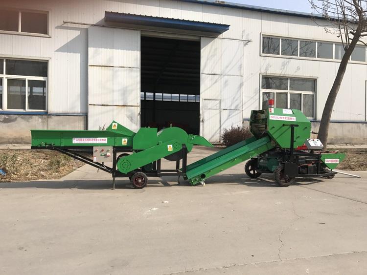 小麥秸稈打捆機-生產廠家-秸稈打捆機