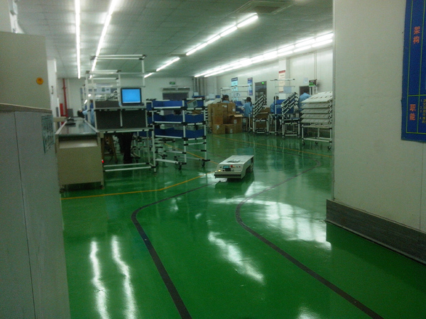 AGV搬運車廠家-AGV搬運車-固德金山科技發展公司