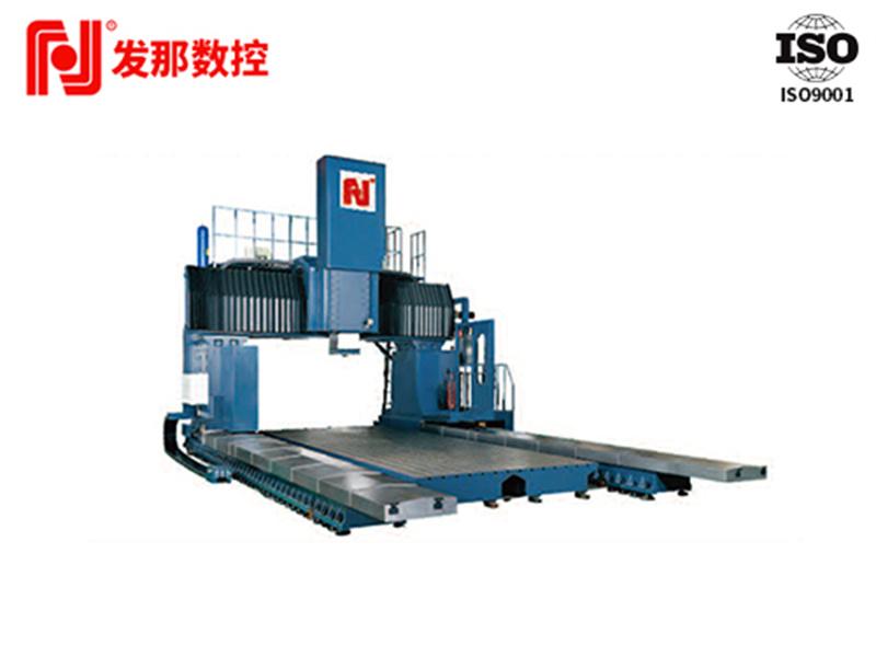 江西門動式數控龍門銑床-廣東發那數控-龍門式數控銑床廠家