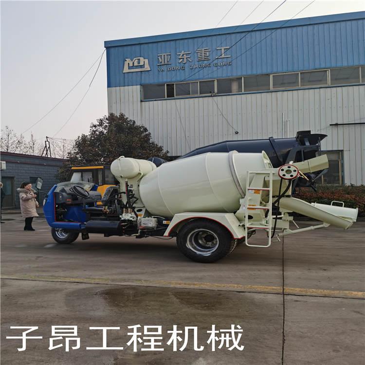 江西攪拌車-子昂工程機械有限公司-混凝土攪拌車