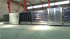 立式全自动中空玻璃生产线、正德机器、银川市中空玻璃生产线