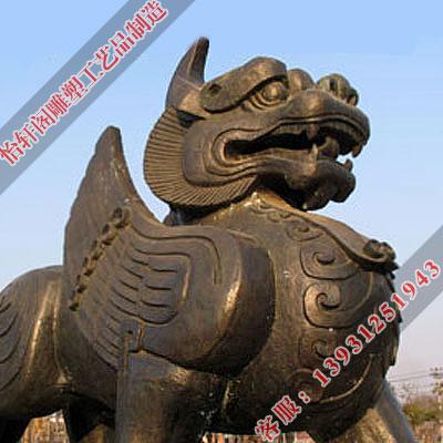 仿古铜貔貅制作|苏州铜貔貅|怡轩阁铜工艺品