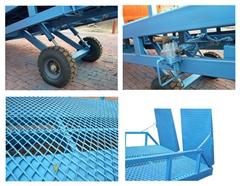 集裝箱裝卸貨平台|強峰升降機械|福建登車橋