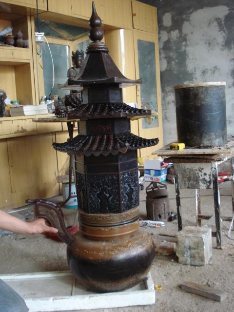 铜雕香炉 铸铜塔炉 铜香炉_汇丰铜雕(在线咨询)_宁夏香炉