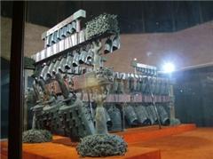 仿古青铜器马车鉴定、新疆仿古青铜器马车、领航工艺品