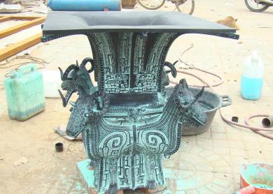 青铜器制作、领航铜雕工艺品、仿古青铜器制作