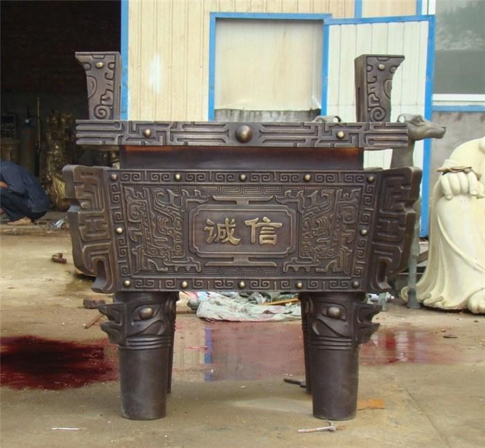 仿古铜鼎价格、领航工艺品、内蒙古仿古铜鼎