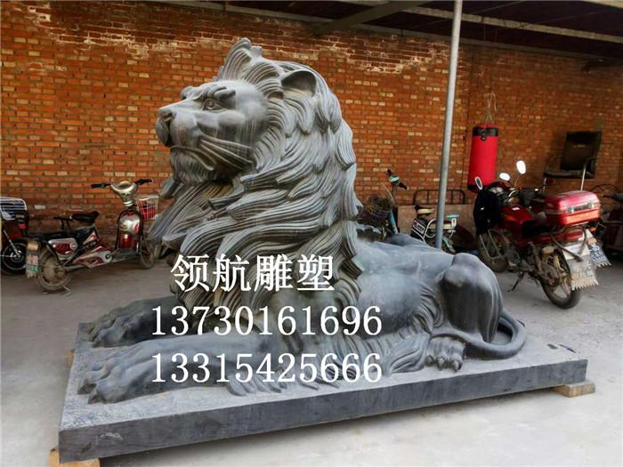 仿古大型铜狮子_云南大型铜狮子_领航工艺品
