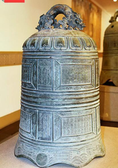 仿古寺庙铜钟_领航工艺品_上海寺庙铜钟