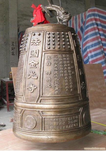 仿古铜钟|领航工艺品|陕西铜钟