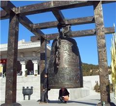 河南寺院铜钟|领航工艺品|仿古寺院铜钟制作