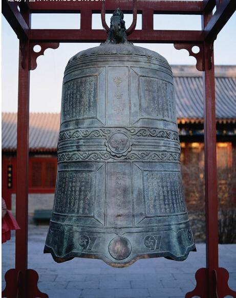 仿古铸铜钟_四川铸铜钟_领航雕塑工艺品