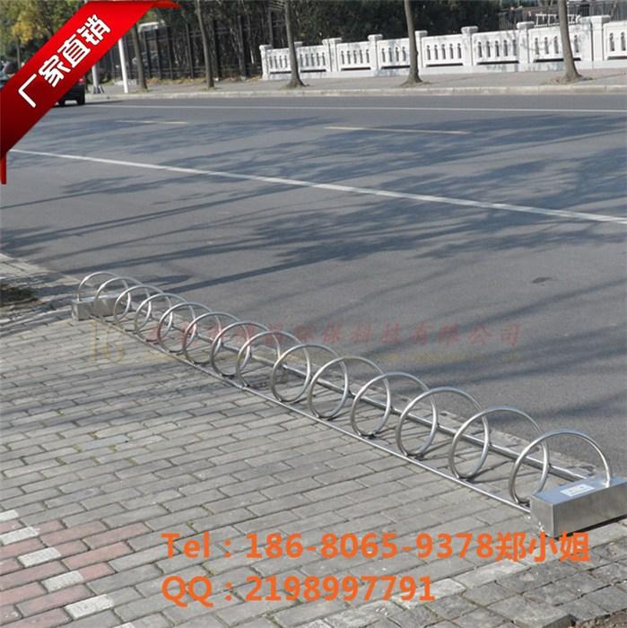 不锈钢自行车停车架图片/不锈钢自行车停车架样板图 (1)