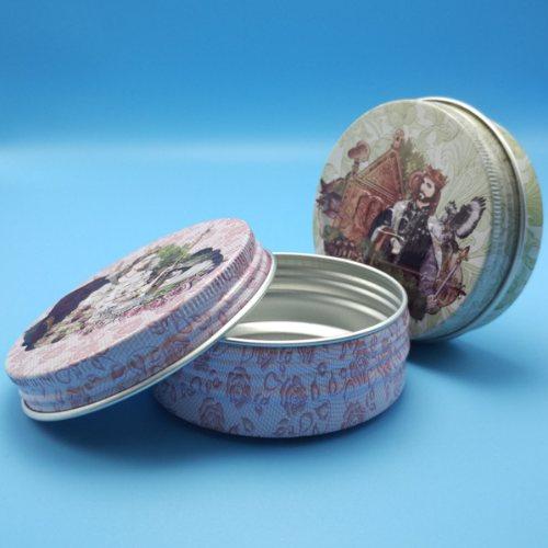 天地铝罐直销 新锦龙 优质铝罐定制 圆形铝罐
