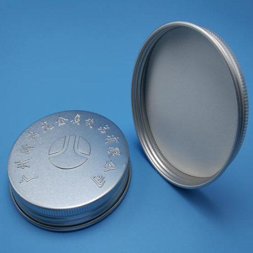 多型号金属盖生产商 圆形金属盖批发 新锦龙 卷边金属盖定制