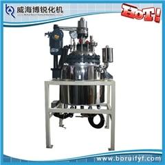 磁力反应釜、闭式磁力反应釜、威海博锐化机(优质商家)