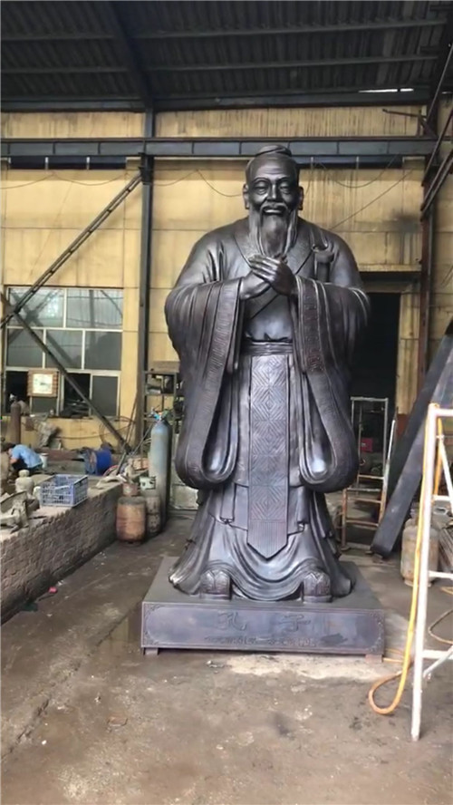 孔子铜像图片/孔子铜像样板图 (1)