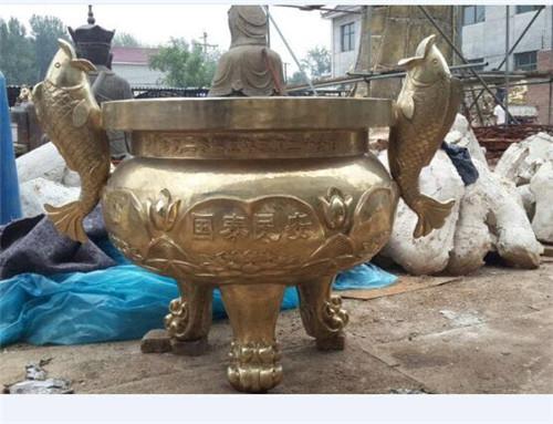 铸铜铁香炉,江西香炉,宏达雕塑(查看)