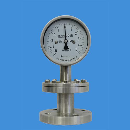不锈钢耐震膜盒压力表_膜盒压力表_长城仪表