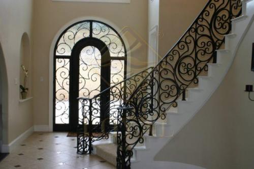 朗亚铁艺(图)|楼梯栏杆|芜湖栏杆