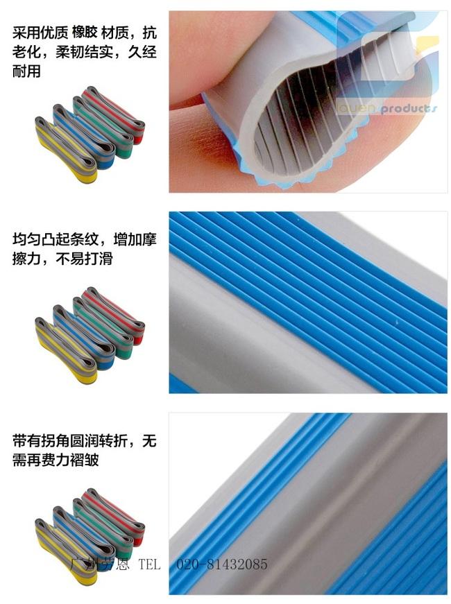 劳恩塑料制品(图)_家用楼梯防滑条_潮州楼梯防滑条