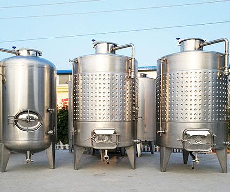 株洲发酵罐、诸城酒庄酿酒设备