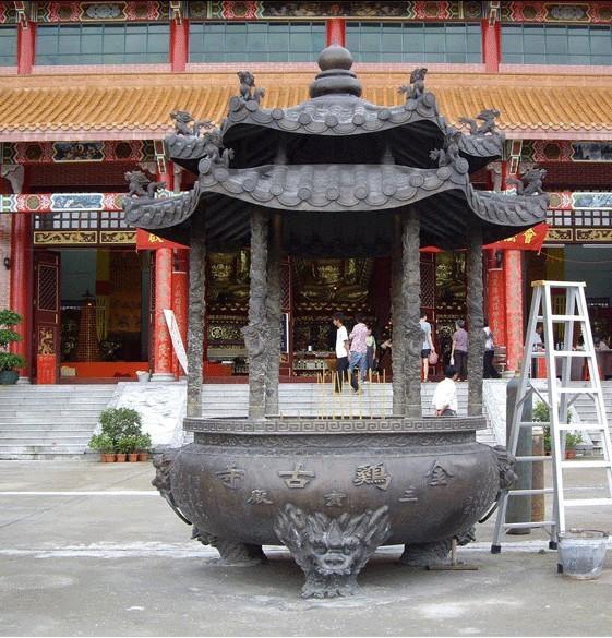 昌盛铜雕(图)、铸铁香炉、张家界香炉