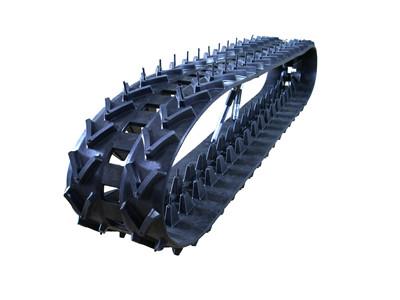 广西橡胶履带,力维机械(在线咨询),橡胶履带规格