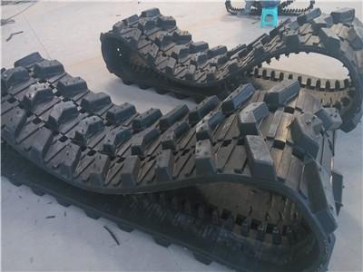 佳木斯橡胶履带|力维机械经久耐用|橡胶履带价格