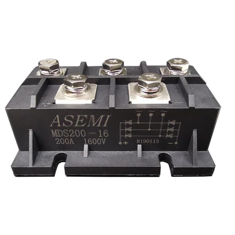ASEMI首芯 大功率整流模块MTC160A-16整流模块的作用