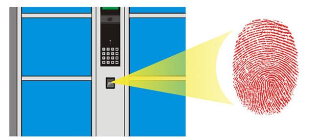 广州寄存柜、强固、36门自设密码寄存柜