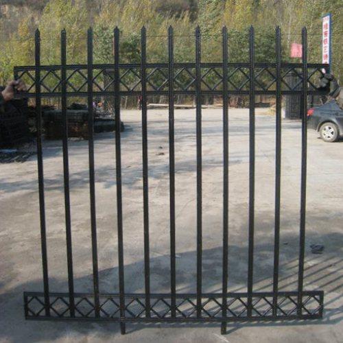 铸铁栅栏优点 铸铁栅栏 桂吉 围墙铸铁栅栏工艺