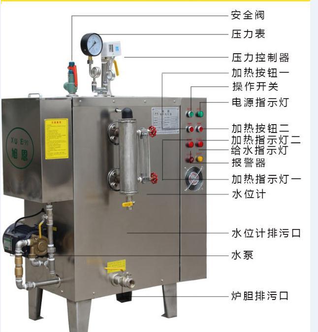 不锈钢蒸汽发生器,蒸汽发生器,旭恩蒸汽发生器