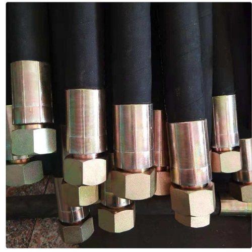 衡水宇星 专业高压胶管总成规格 工程机械高压胶管总成