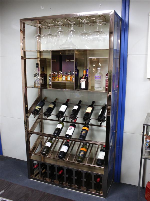 酒吧不锈钢酒柜销售
