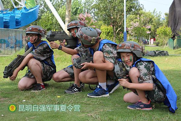 励志夏令营-自强军事训练-迪庆夏令营