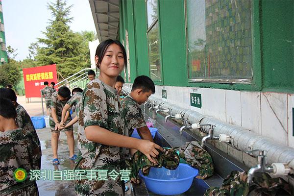 励志夏令营-香港夏令营-自强军事训练