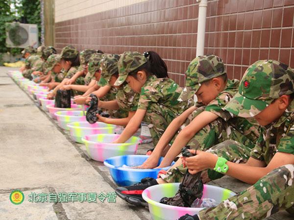 励志夏令营-自强军事训练-丰台夏令营