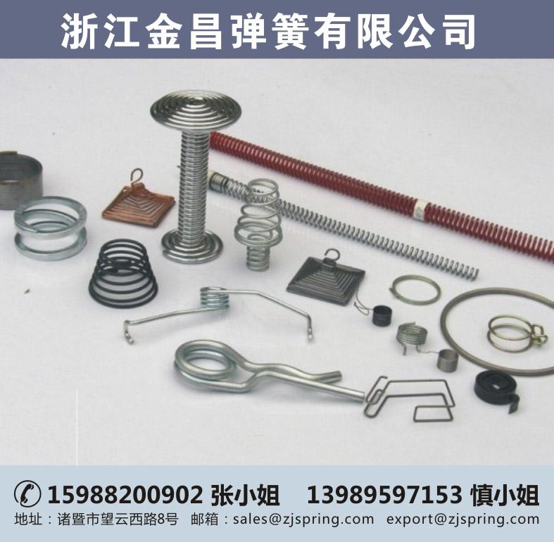 不锈钢弹簧、金昌弹簧(在线咨询)、弹簧
