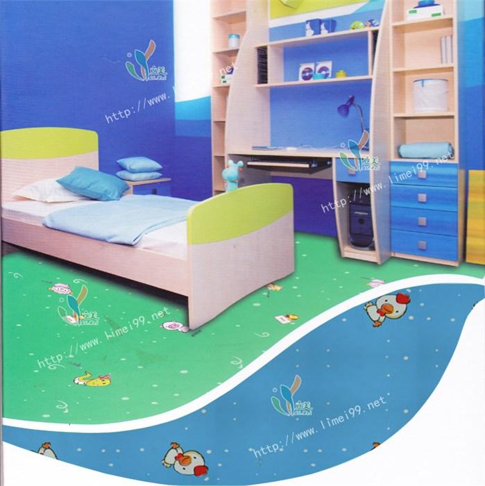 上海儿童塑胶地板|立美建材智能环保|儿童塑胶地板生产加工