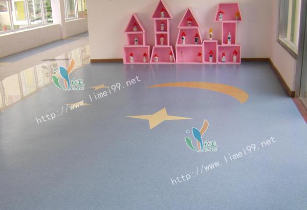 儿童塑胶地板生产加工,儿童塑胶地板,立美建材价格合理(图)
